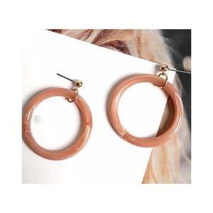 Jewelry - Maude Resin Hoop Earrings